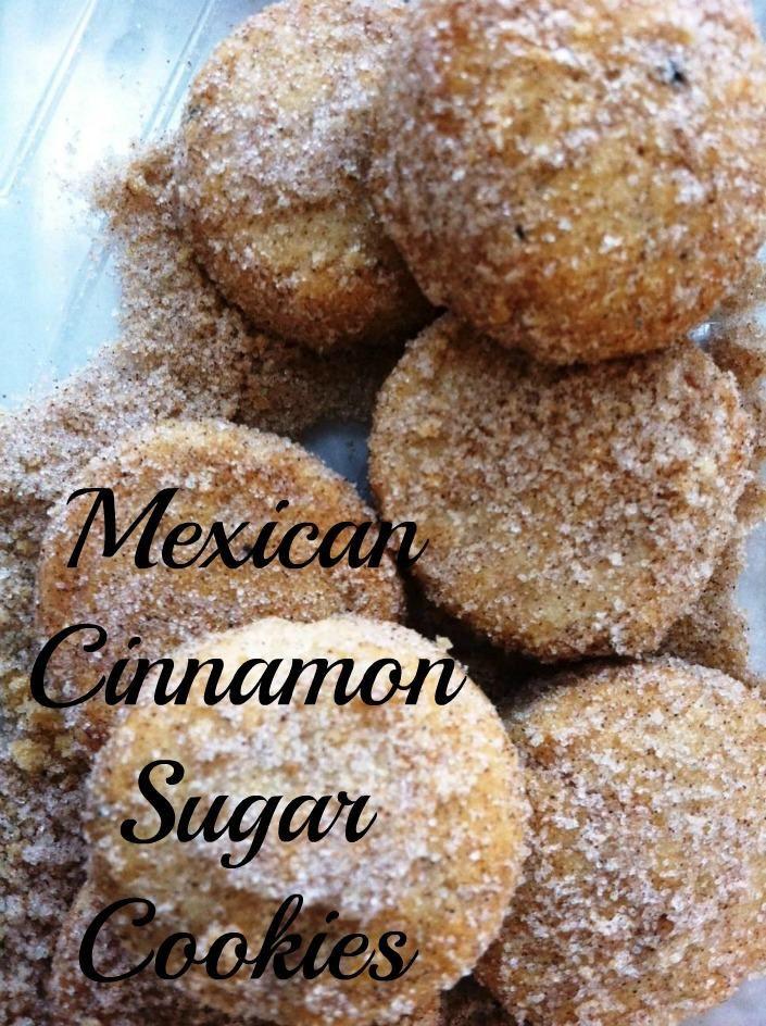 Mexican Christmas Cookies  Mexican Cinnamon Sugar Cookies or Polvorones de Canela are