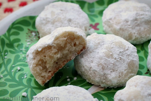 Mexican Christmas Cookies Recipe  Holiday Snowball Cookies