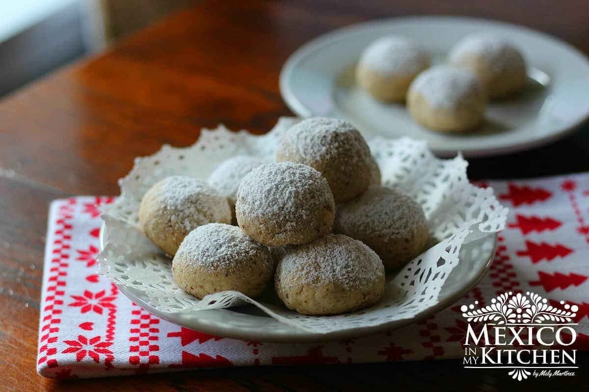 Mexican Christmas Cookies Recipe  Easy Mexican Wedding Cookies Recipe Authentic Mexican