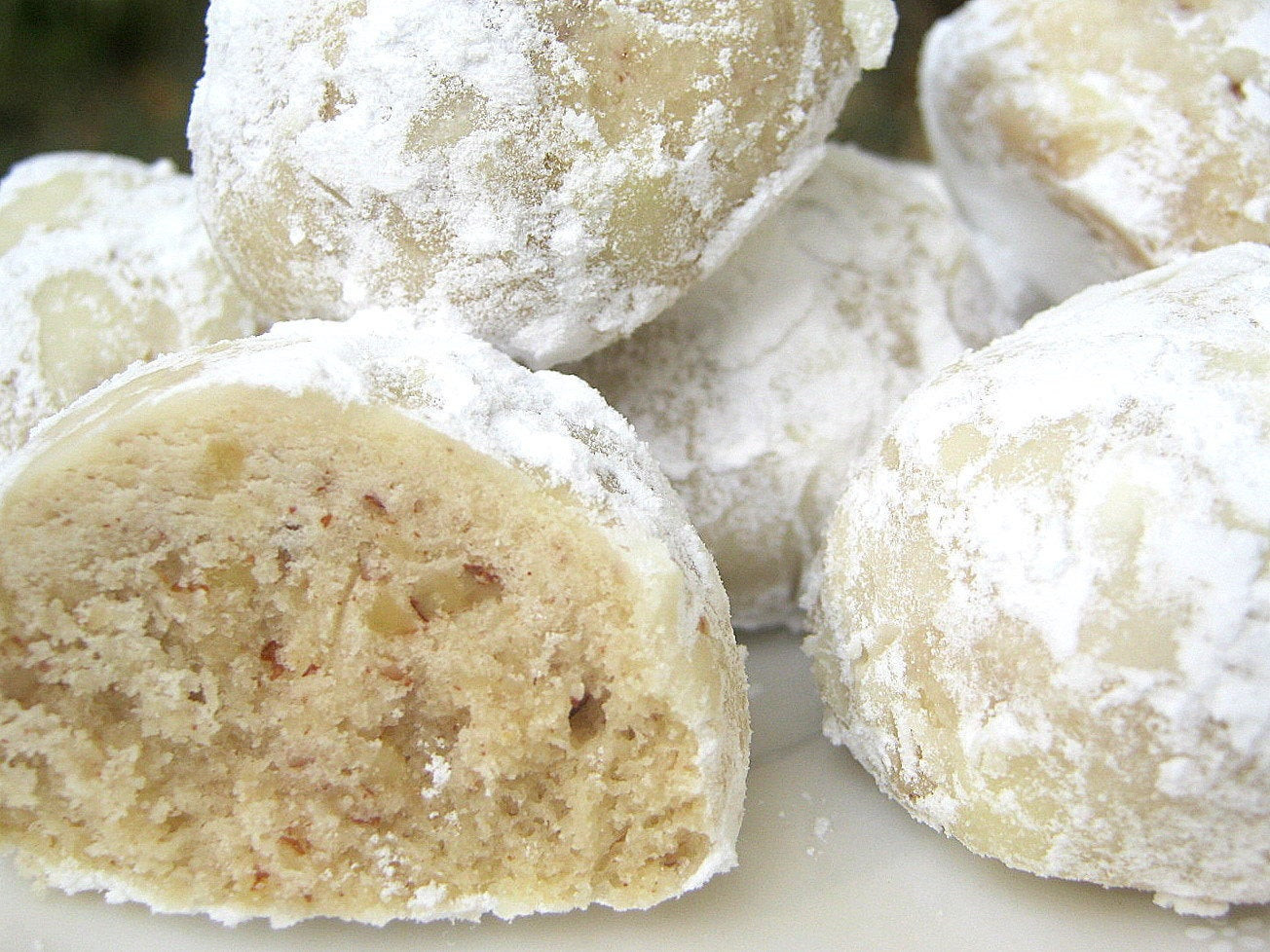 Mexican Christmas Cookies  Snowball Mexican Wedding Cookies Holiday by SugarMeDesserterie