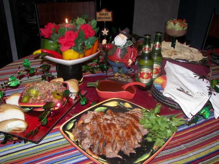 Mexican Christmas Dinner Recipes  Aprovécho Mexican American Border Cooking Christmas