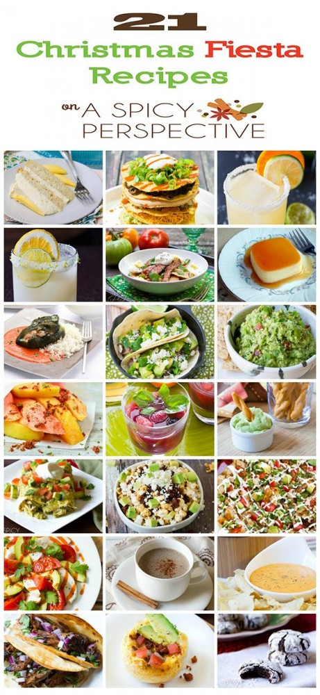 Mexican Christmas Dinner Recipes  Mexican Food Recipes A Spicy Perspective