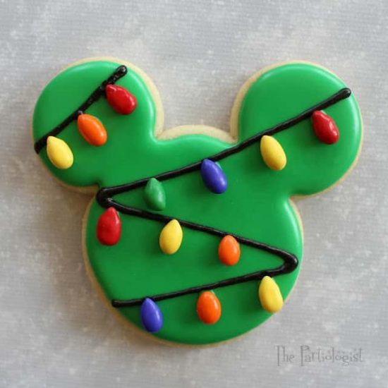 Mickey Mouse Christmas Cookies  Disney Christmas Cookies Recipes For Holidays