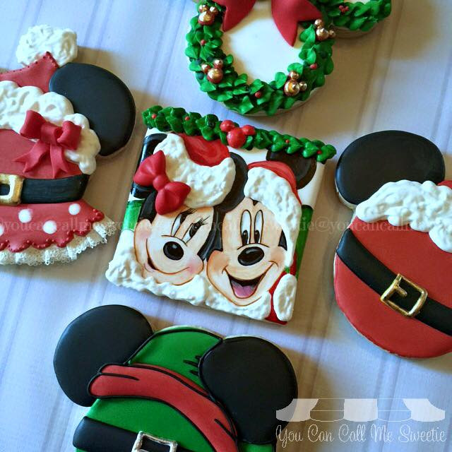 Mickey Mouse Christmas Cookies  Between the Pages Minnie Mouse