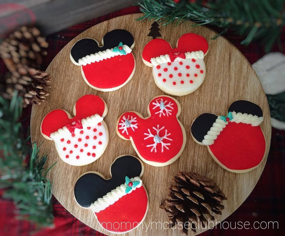 Mickey Mouse Christmas Cookies  The BEST Sugar Cookie Recipe The Mommy Mouse Clubhouse