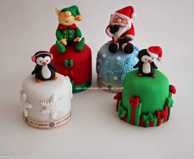 Mini Christmas Cakes  Tips How to Making Mini Christmas Cakes Recipes The Best