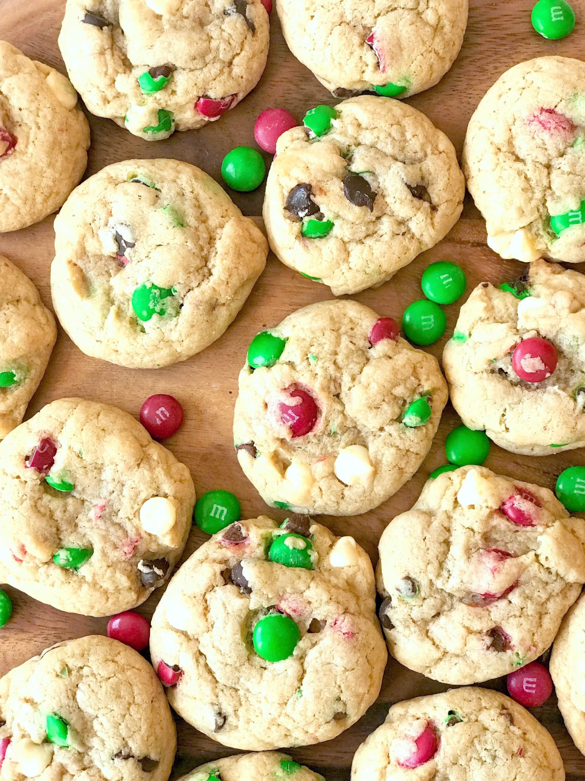 Mm Christmas Cookies  M&M s Christmas Cookies