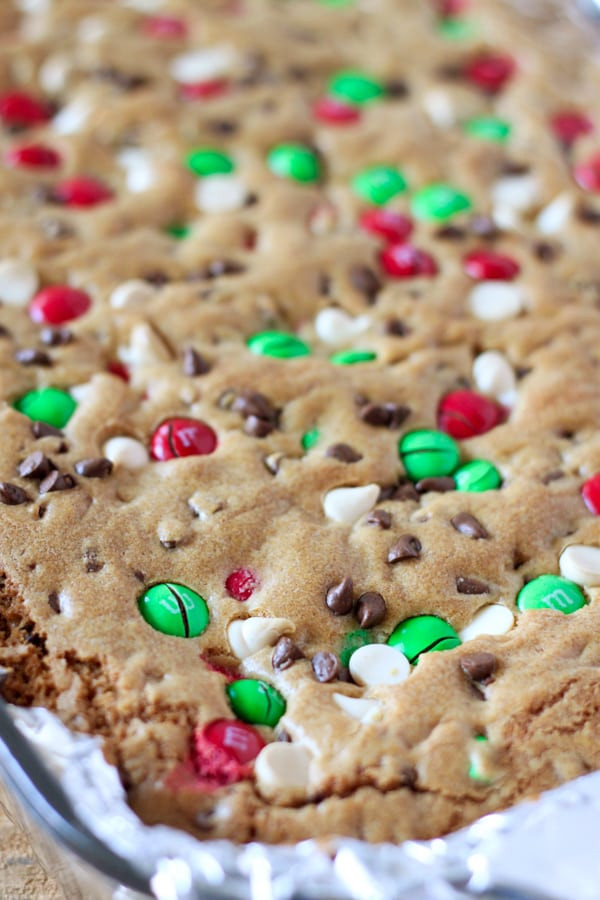 Mm Christmas Cookies  M&M S Christmas Cookie Bars No 2 Pencil