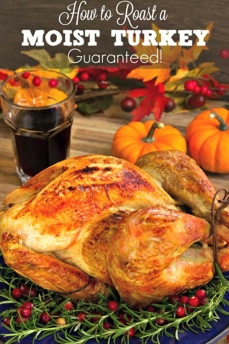 Moist Thanksgiving Turkey Recipe  How To Roast A Moist Turkey Super easy recipe for