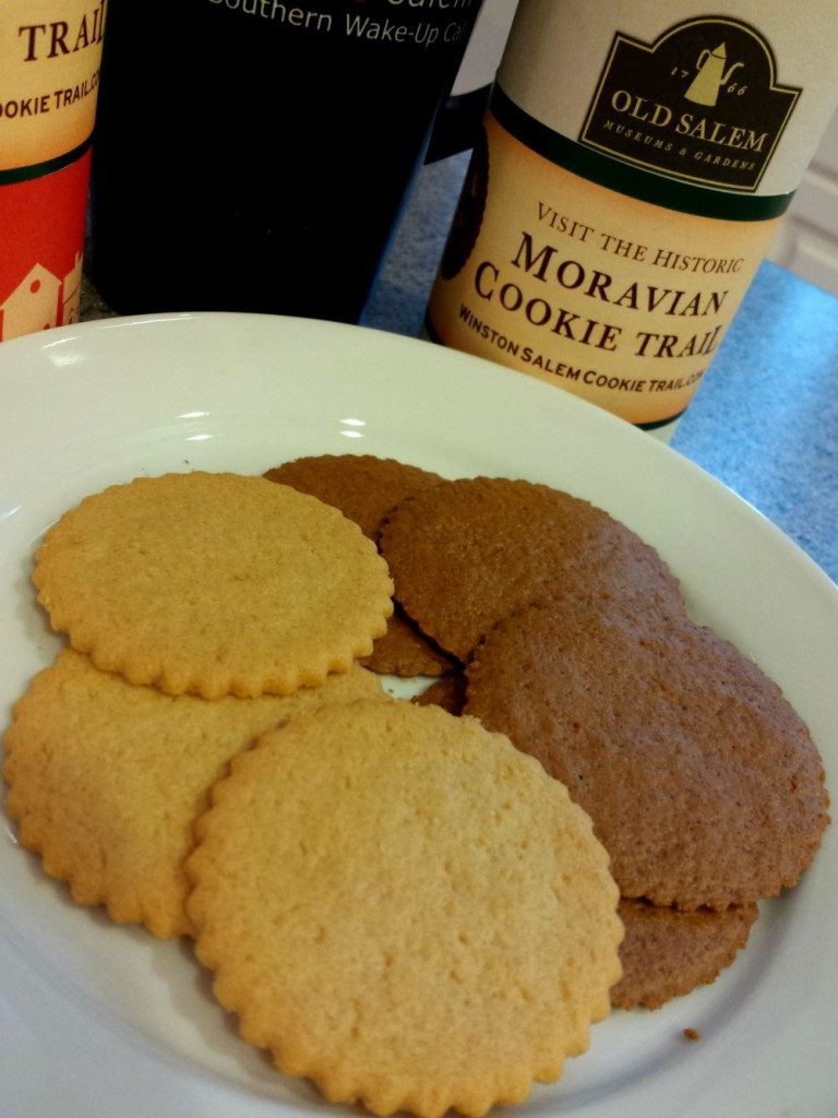 Moravian Christmas Cookies  Taste the Goodness of the Moravian Cookie Trail in Winston