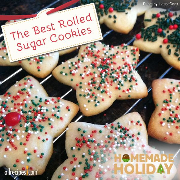 Most Popular Christmas Cookies  The Best Rolled Sugar Cookies