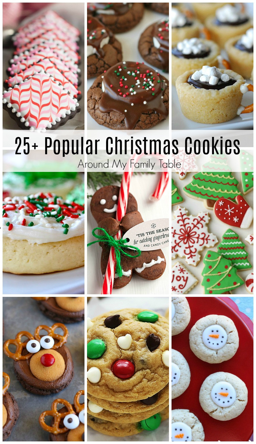 Most Popular Christmas Cookies  Most Popular Christmas Cookie Recipes Around My Family Table