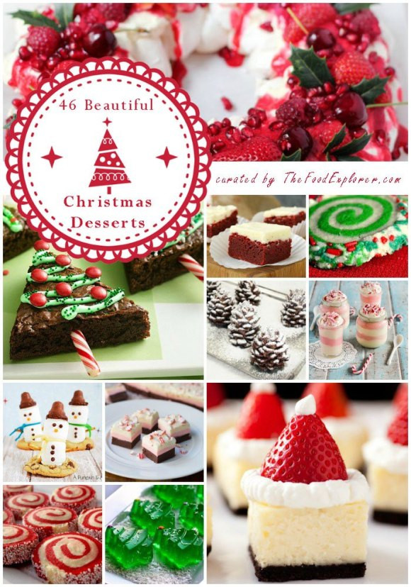 Most Popular Christmas Desserts  The Most Beautiful and Easy 46 Christmas Desserts on the