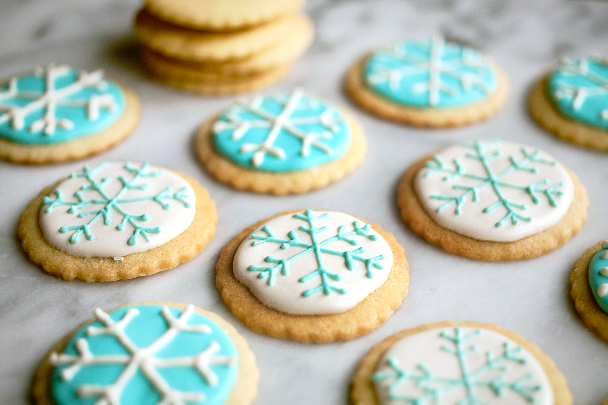 New York Times Christmas Cookies  Frosted Holiday Sugar Cookies Recipe NYT Cooking
