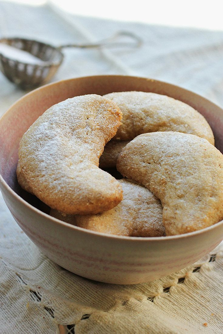New York Times Christmas Cookies  Cardamom Walnut Crescents Lisa Nicklin for The New