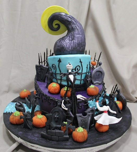 Night Before Christmas Cakes  Top 10 Nightmare Before Christmas Cakes
