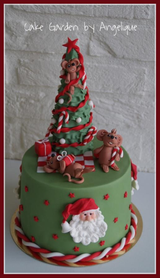 Night Before Christmas Cakes  It was the night before christmas cake by Cake Garden