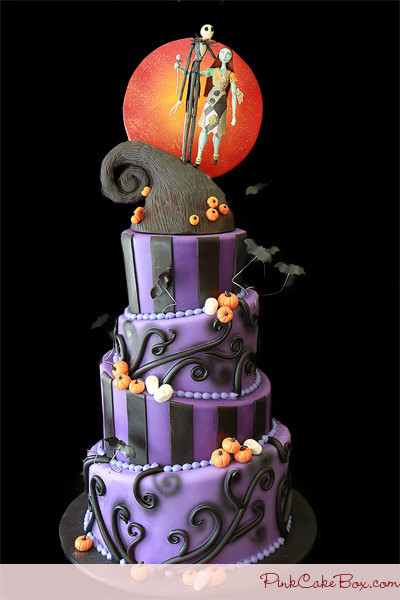 Night Before Christmas Cakes  nightmare before christmas cake on Tumblr