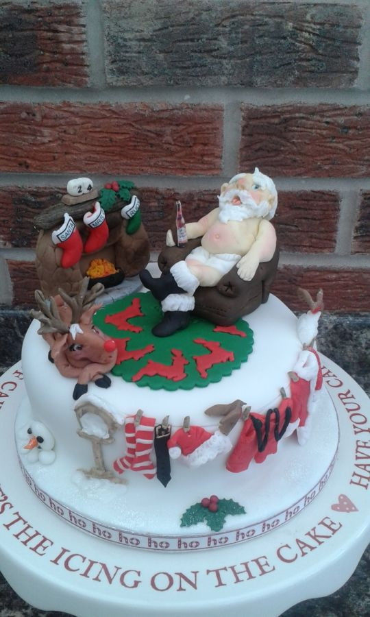 Night Before Christmas Cakes  Twas the Night Before Christmas version