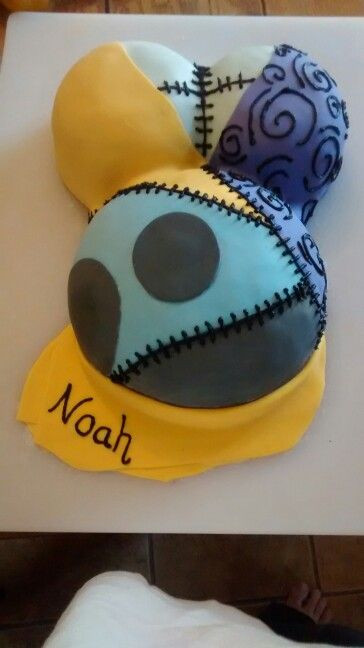 "Nightmare Before Christmas Baby Shower Cakes  Nightmare Before Christmas baby shower cake ""Sally"" This"