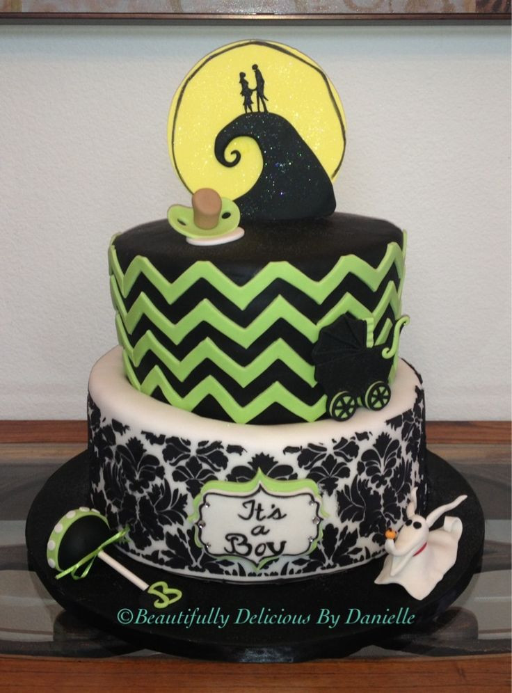Nightmare Before Christmas Baby Shower Cakes  25 best ideas about Christmas baby shower on Pinterest