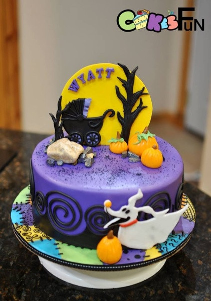 Nightmare Before Christmas Baby Shower Cakes  Nightmare Before Christmas baby Shower Cake Cake