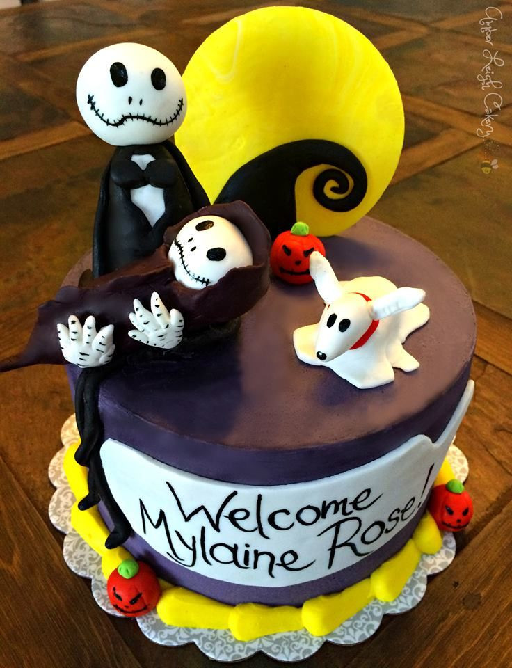 Nightmare Before Christmas Baby Shower Cakes  59 best Amber Leigh Cakery images on Pinterest
