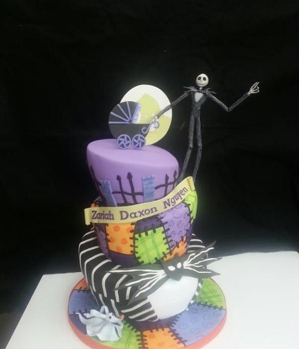 Nightmare Before Christmas Baby Shower Cakes  Creepy Nightmare Before Christmas Cakes CakeCentral