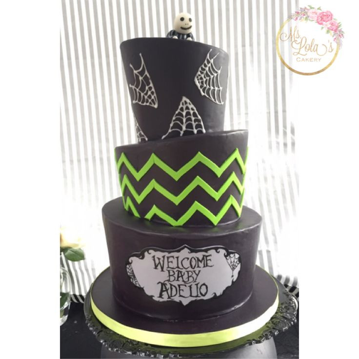 Nightmare Before Christmas Baby Shower Cakes  Nightmare Before Christmas baby shower cake