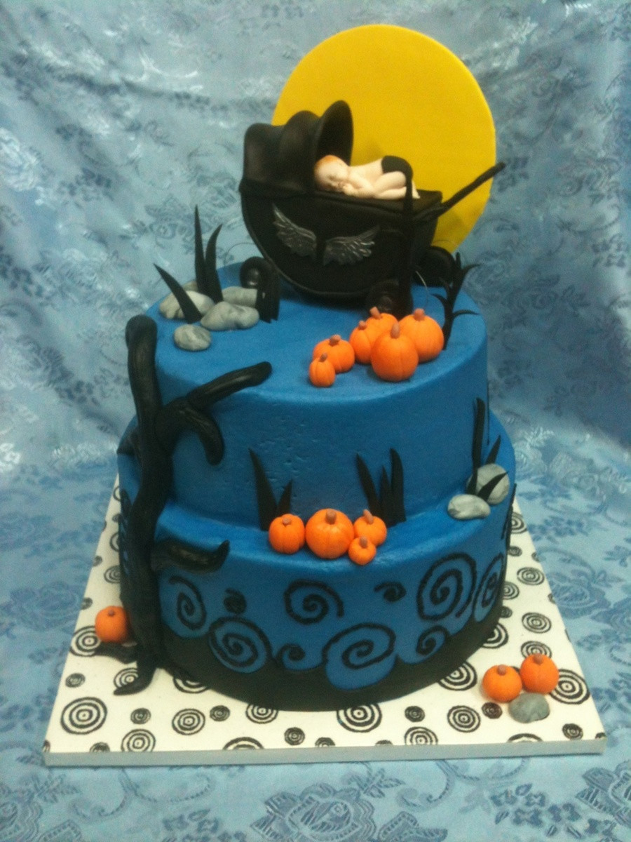 Nightmare Before Christmas Baby Shower Cakes  Baby Shower Nightmare Before Christmas Iced With