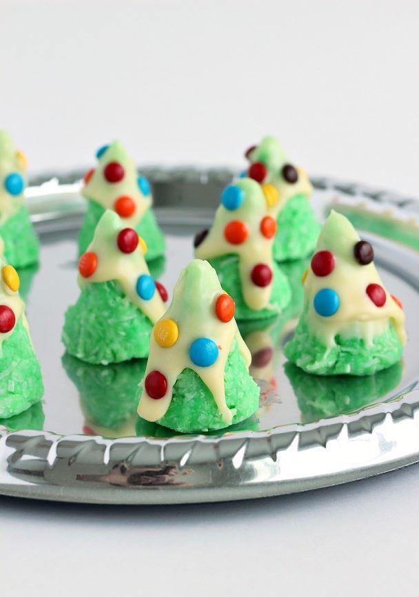 No Bake Christmas Tree Cookies  No Bake Christmas Tree Cookies