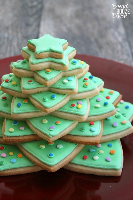 No Bake Christmas Tree Cookies  30 Christmas Cookies for your holiday baking