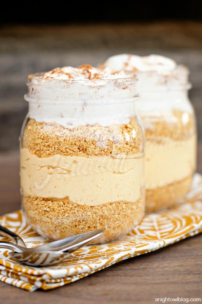No Bake Fall Desserts  Easy No Bake Pumpkin Cheesecake