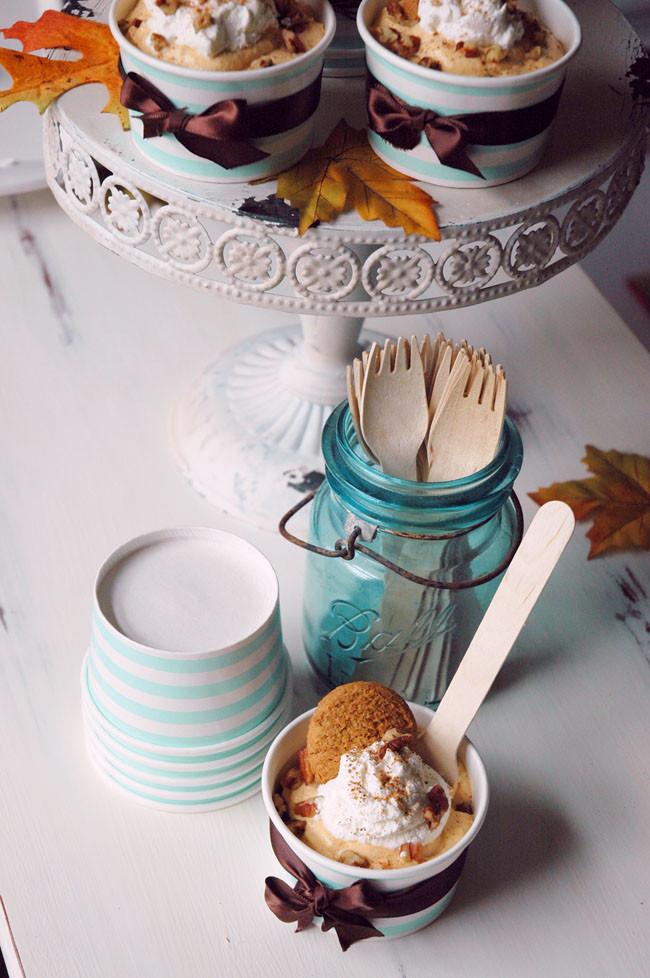 No Bake Fall Desserts  No Bake Mini Pumpkin Cheesecakes Thanksgiving Recipe