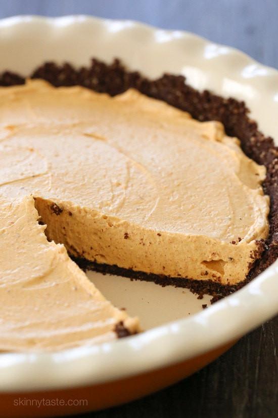 No Bake Fall Desserts  Pumpkin Spice No Bake Cheesecake