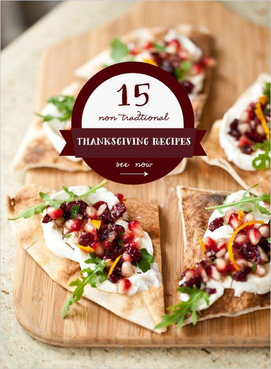Non Traditional Christmas Dinner Ideas  15 Non Traditional Thanksgiving Dinner Ideas