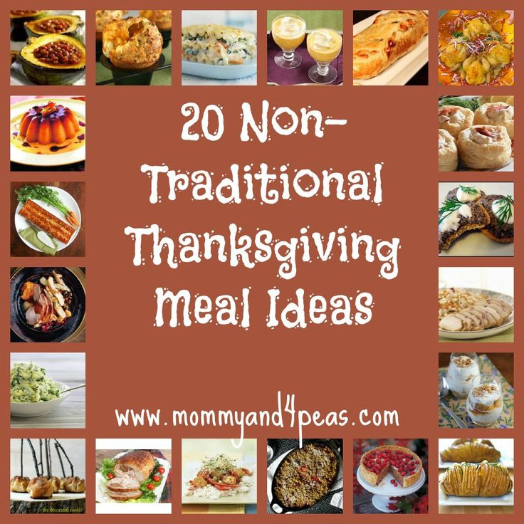 Non Traditional Thanksgiving Dinner  Host a Non Traditional Thanksgiving 20 Great Meal Ideas