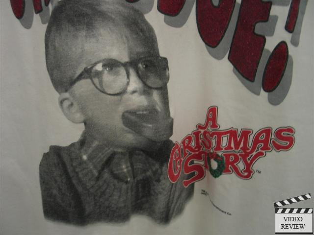 "Oh Fudge A Christmas Story  A Christmas Story ""Oh Fudge "" T Shirt Fruit of the Loom"