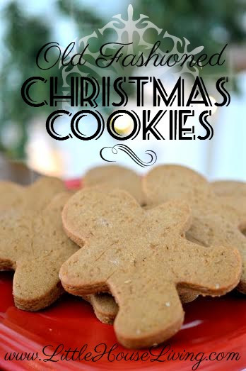 Old Fashioned Christmas Cookies  Old Fashioned Christmas Cookie Recipes Little House Living