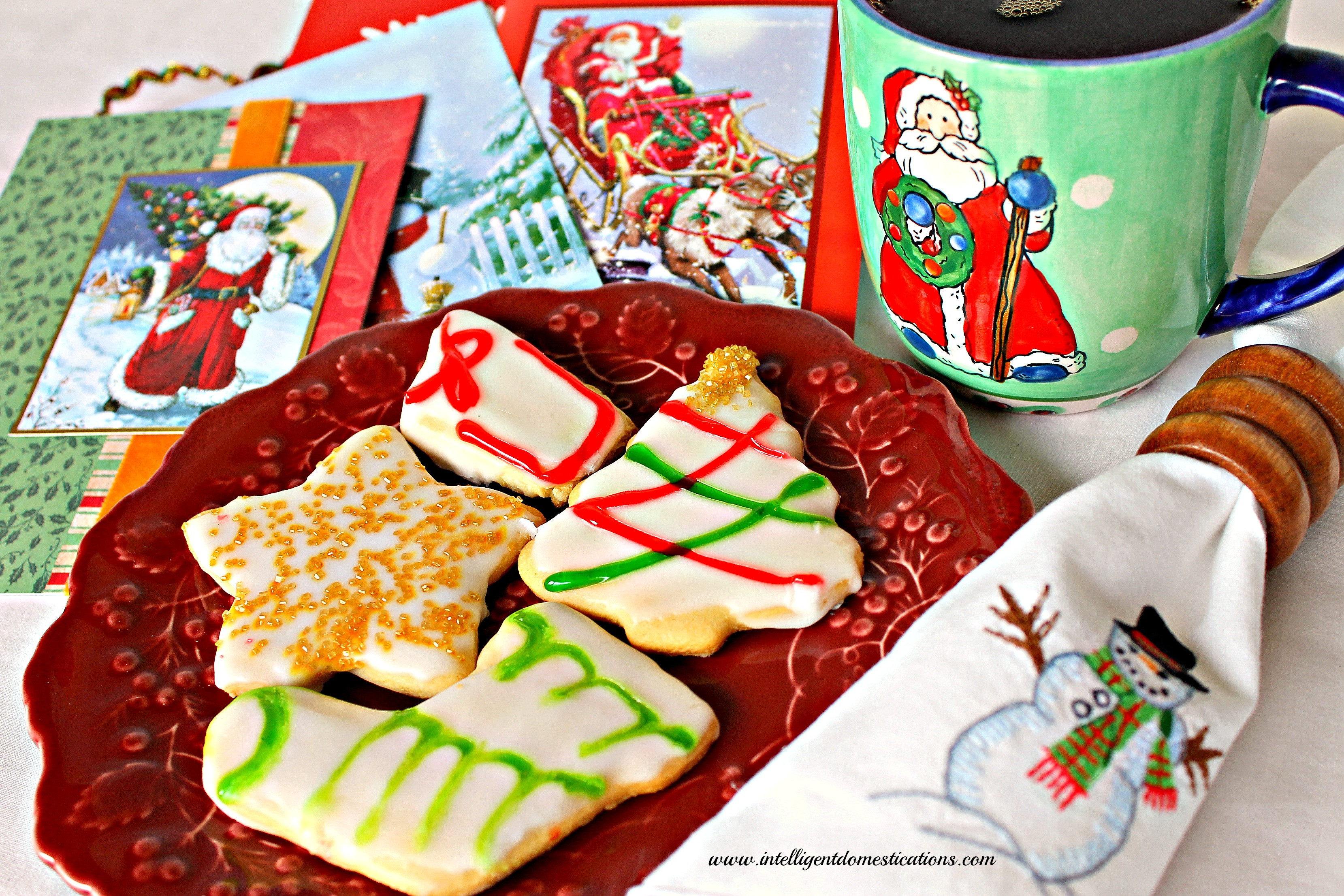 Old Fashioned Christmas Cookies  Old Fashioned Tea Cake Christmas Cookies