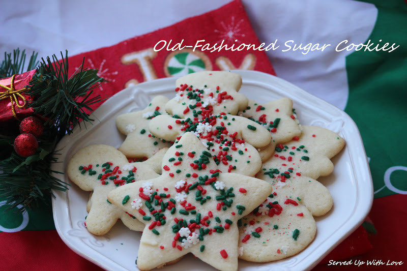 Old Fashioned Christmas Cookies  Served Up With Love Gooseberry Patch The Christmas Table