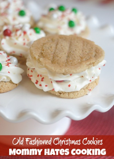 Old Fashioned Christmas Cookies  Old Fashioned Christmas Cookies Mommy Hates Cooking