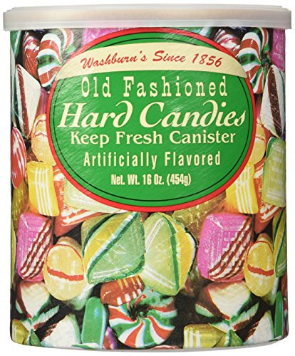 Old Fashioned Hard Christmas Candy Mix  Amazon The Original Christmas Hard Can s Washburn