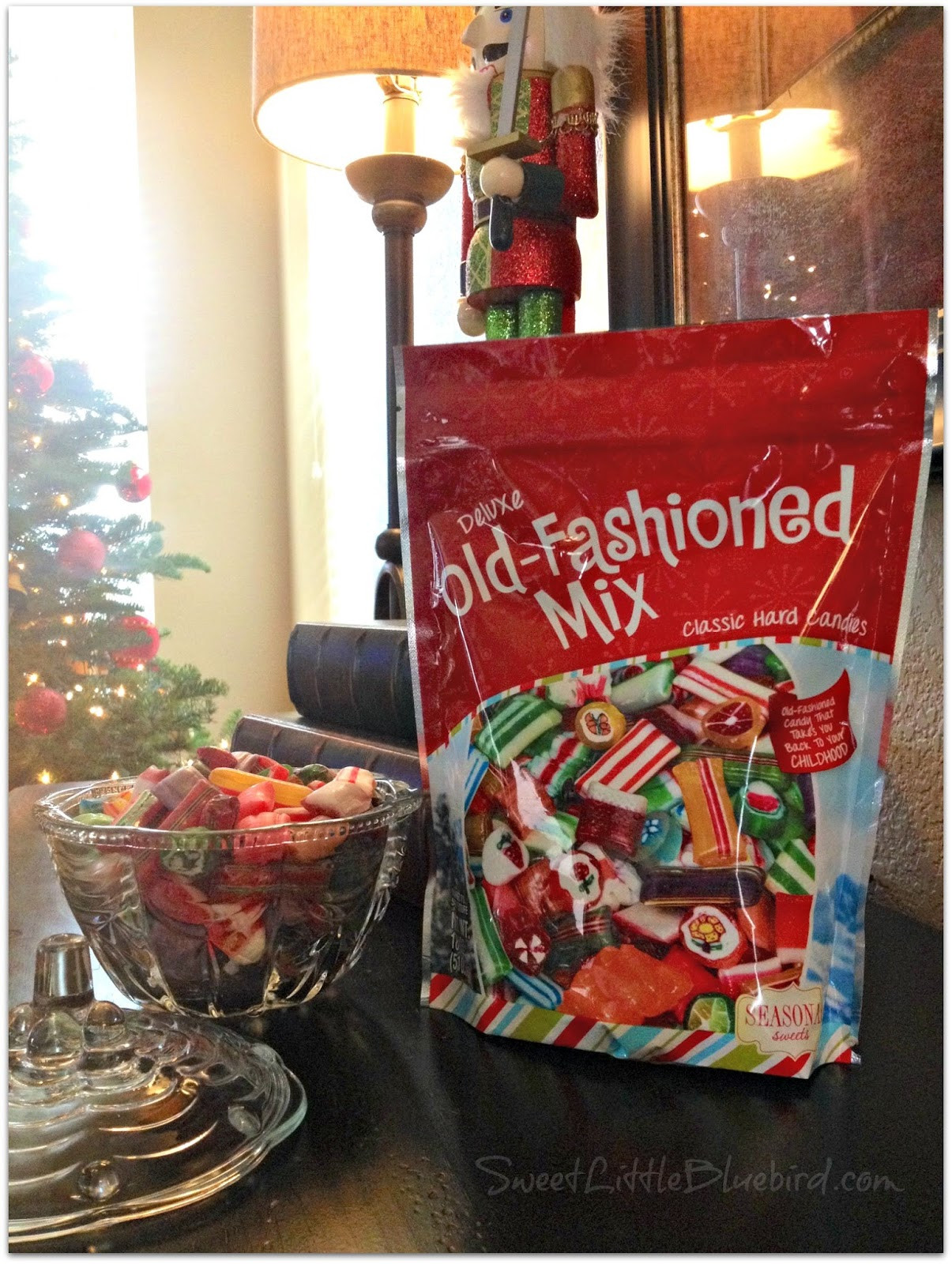 Old Fashioned Hard Christmas Candy Mix  Old Fashioned Holiday Christmas Candy Sweet Little Bluebird