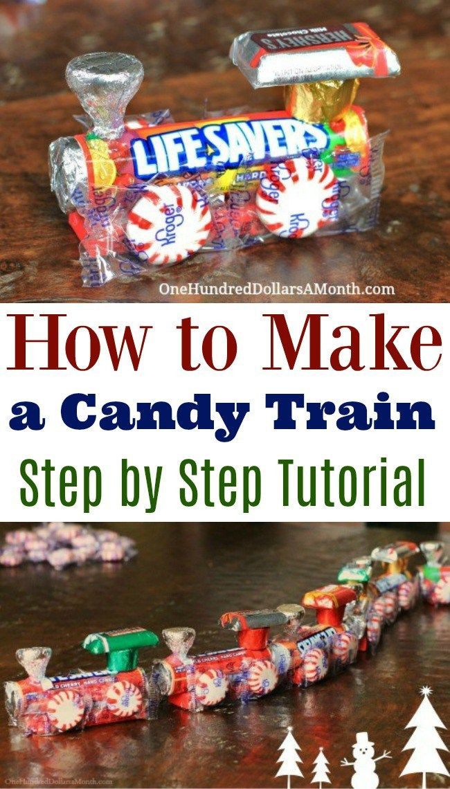 Old School Christmas Candy  Best 25 Candy train ideas on Pinterest