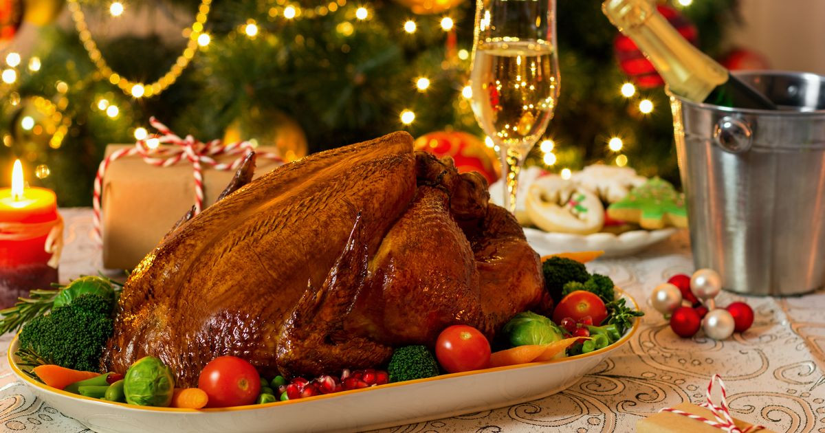 Order Christmas Dinner  You can Christmas dinner in a box for £12 including
