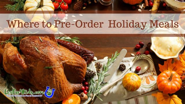 Order Christmas Dinner  Fresh Market Archives • LexFun4Kids