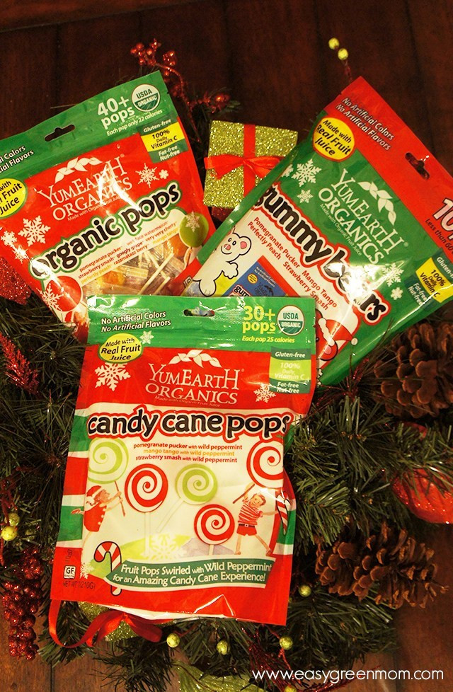 Organic Christmas Candy  $25 YumEarth Organic Holiday Candy Giveaway Easy Green Mom