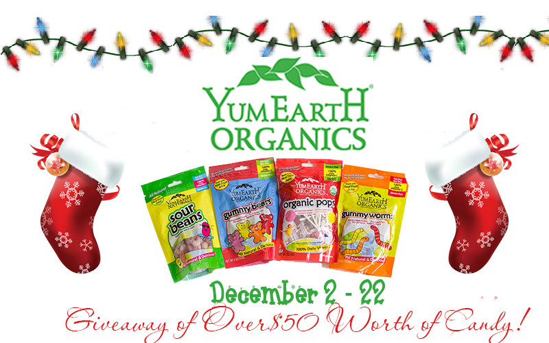 Organic Christmas Candy  The Perfect Stocking Stuffer WIN $50 Worth of YumEarth