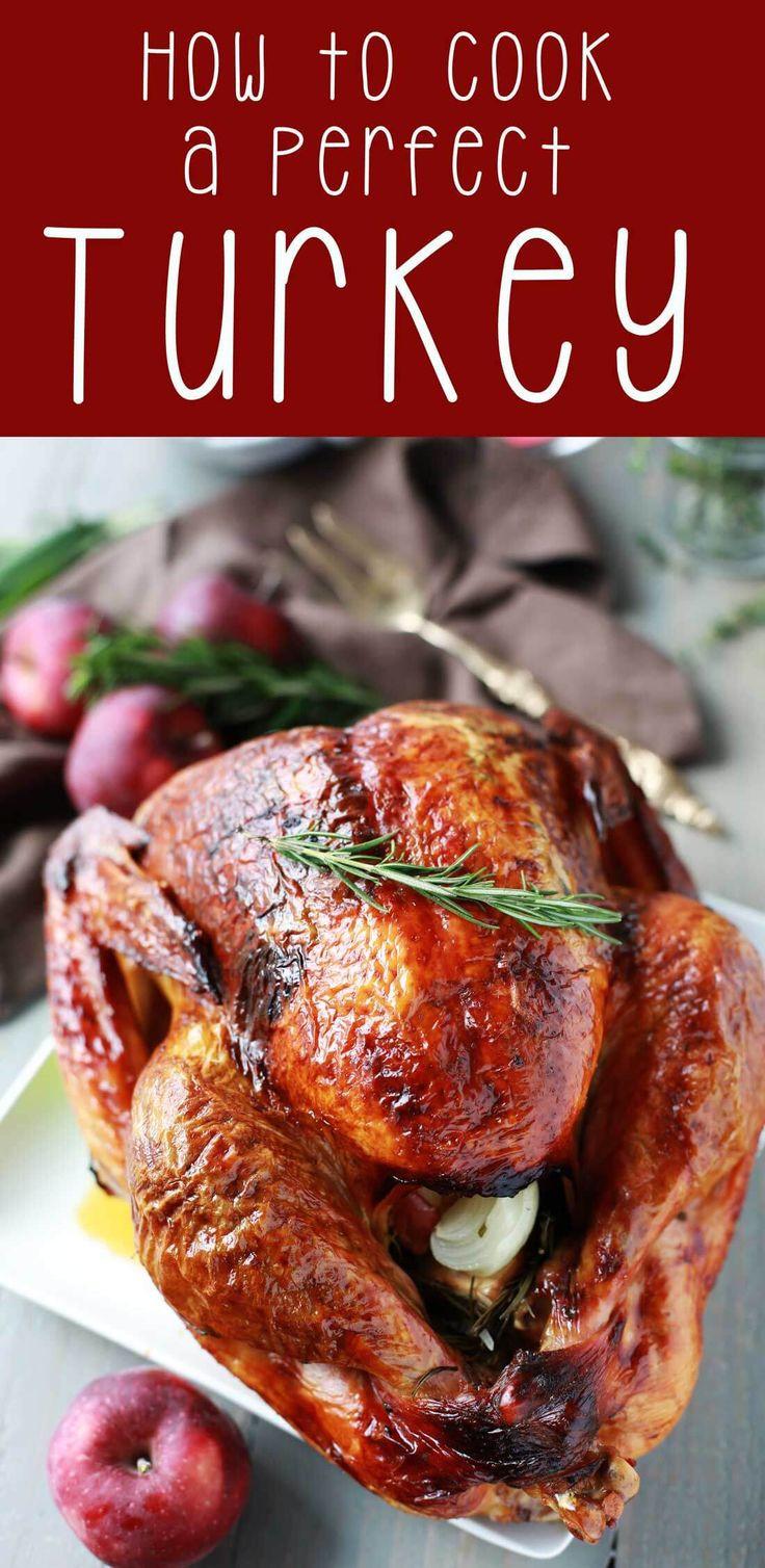 Oven Turkey Recipes Thanksgiving  Best 25 Oven roasted turkey ideas on Pinterest